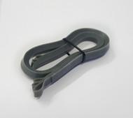 Metallic Silver - 1 cm