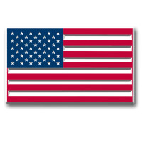 American Flag (Rectangle) Magnet