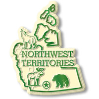 Northwest Territories Magnet by Classic Magnets, Collectible Souvenirs Made in the USA