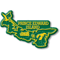 Prince Edward Island Province Magnet by Classic Magnets, Collectible Souvenirs Made in the USA