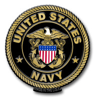 United States Navy Seal Magnet by Classic Magnets, Collectible Souvenirs Made in the USA