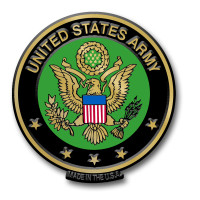U.S. Army Seal Magnet by Classic Magnets, Collectible Souvenirs Made in the USA