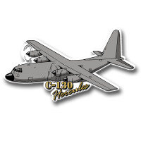 C130 Hercules Magnet by Classic Magnets, Collectible Souvenirs Made in the USA