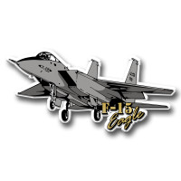F-15 Eagle Jet Magnet by Classic Magnets, Collectible Souvenirs Made in the USA