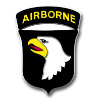 101st Airborne Division Insignia Magnet by Classic Magnets, Collectible Souvenirs Made in the USA