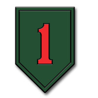 1st Infantry Division Insignia Magnet by Classic Magnets, Collectible Souvenirs Made in the USA
