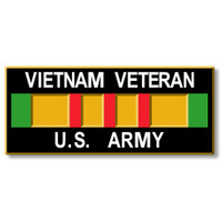 Vietnam Veteran - U.S. Army Magnet by Classic Magnets, Collectible Souvenirs Made in the USA