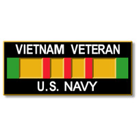 Vietnam Veteran - U.S. Navy Magnet by Classic Magnets, Collectible Souvenirs Made in the USA