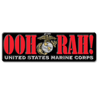 OOH RAH! U.S. Marine Corps Magnet by Classic Magnets, Collectible Souvenirs Made in the USA