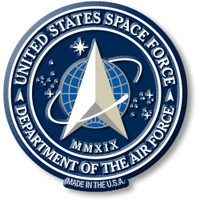 U.S. Space Force Seal Magnet by Classic Magnets, Collectible Souvenirs Made in the USA