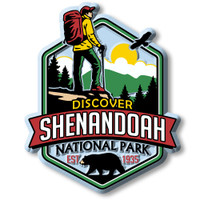 Shenandoah National Park Magnet by Classic Magnets, Discover America Series, Collectible Souvenirs Made in the USA