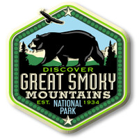 Great Smoky Mountains National Park Magnet by Classic Magnets, Discover America Series, Collectible Souvenirs Made in the USA