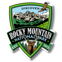 Rocky Mountains National Park Magnet by Classic Magnets, Discover America Series, Collectible Souvenirs Made in the USA