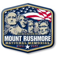 Mount Rushmore National Memorial Magnet by Classic Magnets, Discover America Series, Collectible Souvenirs Made in the USA