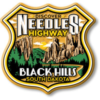 Needles Highway Black Hills South Dakota Magnet by Classic Magnets, Discover America Series, Collectible Souvenirs Made in the USA