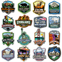 U.S. National Parks Magnet Set by Classic Magnets, 16-Piece Set, Discover America Series, Collectible Souvenirs Made in the USA