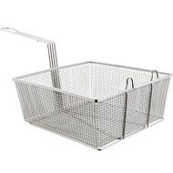 DEEP FRYER BASKET 12 x13x 5.25 Heavy Duty NEW 63103
