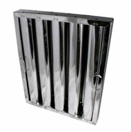 Exhaust Hood GREASE FILTER Baffle 25x20 Stainless 31250
