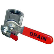"DRAIN VALVE 1-1/4"" FPT W/Special Lock on Handle for Frymaster Fryer 561240"