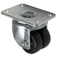 """PLATE MOUNT CASTER 2"""" DIA 2-3/4 X 3-3/4 Plate Size 262416"""
