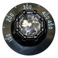 DIAL 2-1/2 DIA 100-450 Thermostat Knob for Vulcan Hart Griddle Wells H006 221037