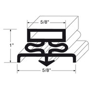 "DOOR GASKET 8' SNAP-IN MAGNETIC MAG 5/8"" B 1"" Dart Mount for General Use 741309"