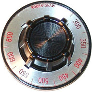 """DIAL 2-1/2 DIA 300-650 """"D"""" Mount .290"""" for Vulcan Oven Lobster GH3/72 221011"""