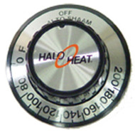 Dial/Knob for Alto Shaam Hold Thermostat 60-200°F 61142