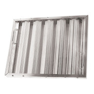 "BAFFLE-TYPE GREASE FILTER W/Handles Galvanized 20"" X 25"" X 2"" for CHG 261770"