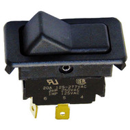 """ON-OFF ROCKER SWITCH DPST ON/OFF 1/4"""" 20A 125-277V FWE Series PS TS UHS 421247"""