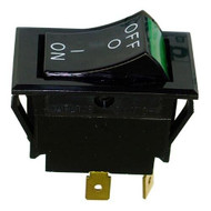 SWITCH ON//OFF LIGHTED DPST, GREY WELLS 55127 STAR MFG 2E-35127 WS-55127