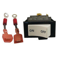 ROCKER SWITCH ON/OFF 3A/250V 6A/125V DPST for Keating Fryer 058328 032242 421527
