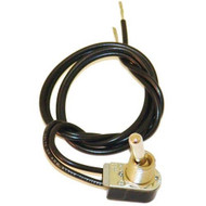 "TOGGLE SWITCH W/17"" Wire Leads ON/OFF 3AMP/250V 6AMP/125V for Holman Oven 421569"