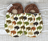 Bison Herd Bison Booties 18-24 months