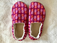 Pineapple Bison Booties Child Slippers