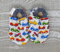 Race Cars Bison Booties 0-6 months