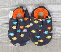 Guppy Bison Booties 0-6 months