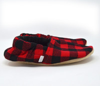 Redwood Bison Booties Slippers