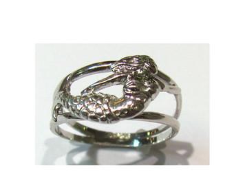 Sterling Mermaid Ring