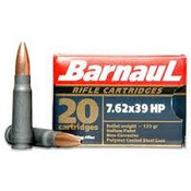 Barnaul 7.62x39 123gr Hollow Point 1000rds