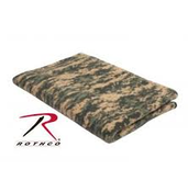 Rothco Camo Fleece Blanket Acu Digital Camo