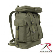 Rothco Canvas European Style Rucksack  OD Green