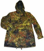 Surplus German Flecktarn Camouflage Parka