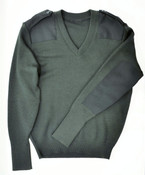 CFS Dark Green Wool Sweater