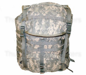 6 Pack Surplus Modular Lightweight Load-Carrying Equipment (Molle) II-Rucksack - Large - Pack Only (Surplus Condition)