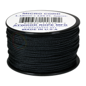 Atwood Rope 1.18mm Micro Cord - Black