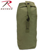 "Rothco Heavyweight Top Load Canvas Duffle 25""x42"""