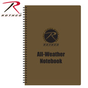 Rothco All Weather Waterproof Notepad - Coyote