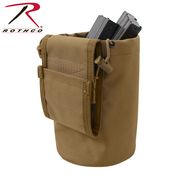 Rothco Molle Roll-Up Utility Dump Pouch - Coyote