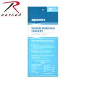 Rothco Aquamira Water Purification Tablets - 20 Pack